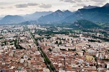 Zoom sur la région Rhône-Alpes